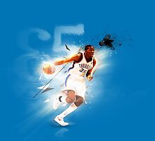 Kevin Durant OKC Thunder NBA Oklahoma City by Givens87