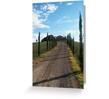 Tuscan Countryside Greeting Card