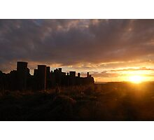 Slains Castle Photographic Print