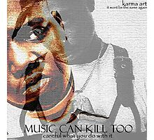 tupac & biggie smalls Photographic Print