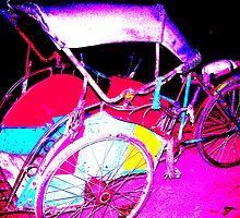 becak alias three cycle by flowerindattic
