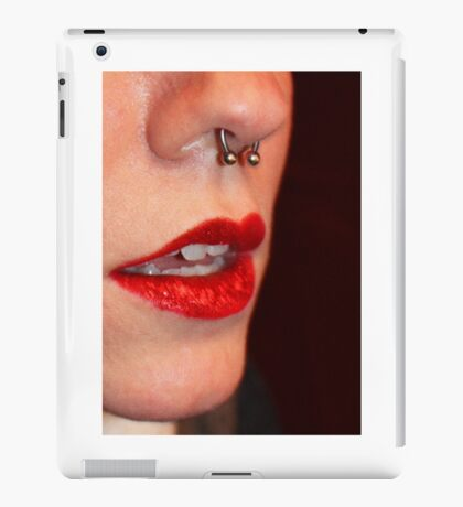 A purty mouth iPad Case/Skin