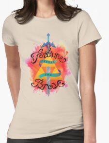 Fortune Favors Womens Fitted T-Shirt