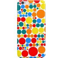Retro Pop Polka Dot Mosaic Pattern iPhone Case/Skin