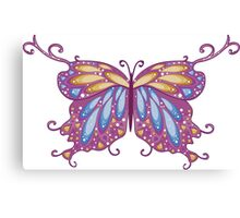 Abstract Fantasy Butterfly 11 Canvas Print