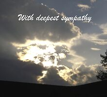 With deepest sympathy by Linda Bennett