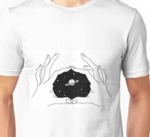 hands space  Unisex T-Shirt