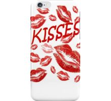 Cover Me In Kisses iPhone Case/Skin