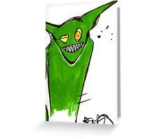 Goblinz Greeting Card