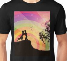 Romantic couple at sunset Unisex T-Shirt