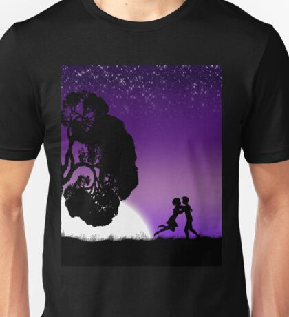 Romantic couple at sunset 2 Unisex T-Shirt