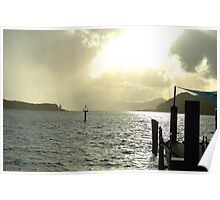 Dawns Landing - Whitsunday Islands, Queensland Australia Poster