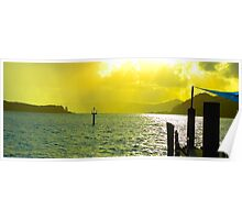 Daydreaming - Daydream Island, The Whitsundays Queensland Australia Poster