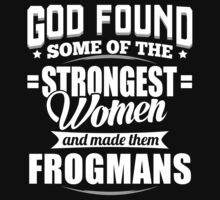 Strongest Frogmans T-shirt by musthavetshirts