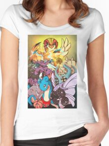 Twitch Plays Pokemon Women's Fitted Scoop T-Shirt