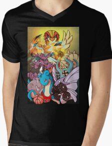 Twitch Plays Pokemon Mens V-Neck T-Shirt