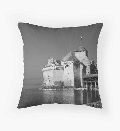 Chateau de Chillon Throw Pillow