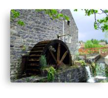Blair Atholl Water Mill Canvas Print