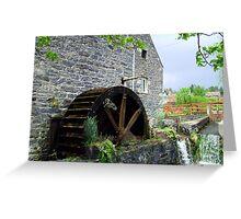 Blair Atholl Water Mill Greeting Card