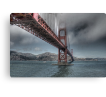 Golden Gate Bridge (Landscape) Canvas Print