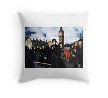 The UK Avengers Throw Pillow