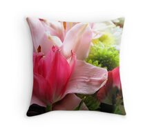 Flowers for Mum 2 Throw Pillow