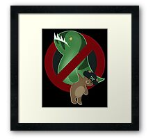 Leviathans Need Not Apply Framed Print