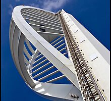 Spinaker Tower underside view by DiOli