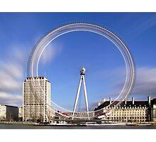London Eye Timelapse Photographic Print