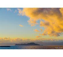 Greek Sunset Photographic Print