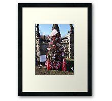 Go Chucks Christmas Tree Framed Print