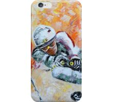 Skiing 07 iPhone Case/Skin