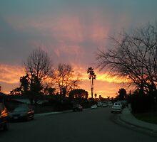 hometown sundown by nicholas  mann