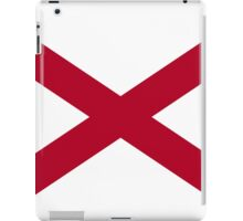 ALABAMA STATE FLAG iPad Case/Skin