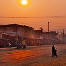 laos sunrise by Amagoia  Akarregi