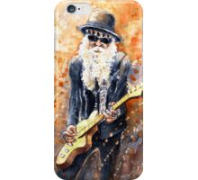Billy Gibbons iPhone Case/Skin