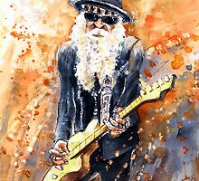 Billy Gibbons by Goodaboom