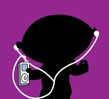 Stewie ipod by supermanneedsme