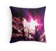 Another view of Gods beauty Throw Pillow