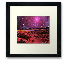Red Dwarf - Re-visited. Framed Print