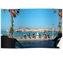 Kos Town Harbour Poster