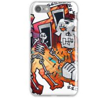 Abstract Hands Helping Hands iPhone Case/Skin