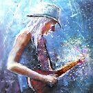 Johnny Winter by Goodaboom