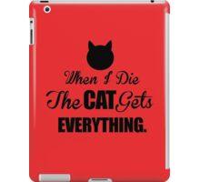 Funny, Cats, Animals iPad Case/Skin