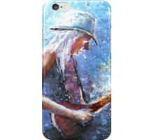 Johnny Winter iPhone Case/Skin