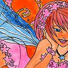 Peach Blossom Faerie by Elisa Chong