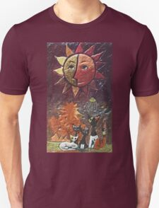 """Exclusive: """" Cats """" / My Creations Artistic Sculpture Relief fact Main 37  (c)(h) by Olao-Olavia / Okaio Créations Unisex T-Shirt"""
