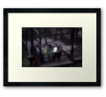 Ghost Children Framed Print