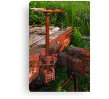 Rusting Canvas Print