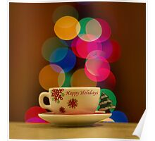 Happy Holidays Greeting Card Poster